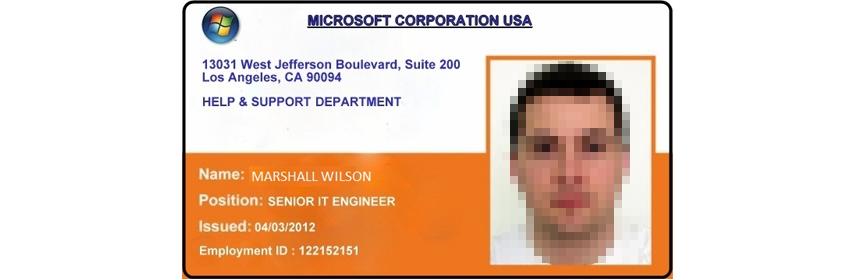 Angeblicher Microsoft-Mitarbeiter