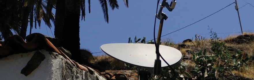 Internet über Satellit