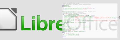 Arbeitsmenü für LibreOffice